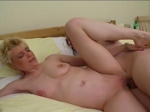 Horny Mature Slut Getting Fucked