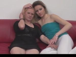 Serbian granny and teen (Erzika and Ivana) By KRMANJONAC