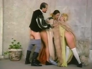 A vintage porn movie showing a truly amazing Italian groupie