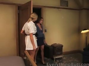 Lesbian Orgy Motel