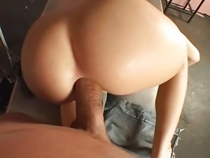 Super hot Rebeca ass creampied