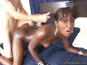Black slut gets fucked part5