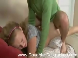 Daughter anal pounded hard free