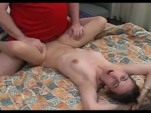 Skinny Nerd Nikki Picked Up And Fucked