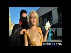 Ash Hollywood - Hot Platinum Blonde Gash Flasher pt.2 free