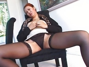 Hot Asian secretary in office fucking