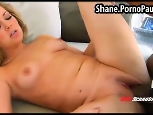 Hot blond fucked by Shane Diesel
