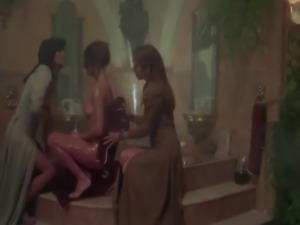 Cult actress Corinne Cléry - Nude scene compilation from The Story of O...