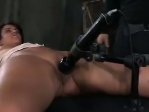 Lactating Milf threesome bondage session
