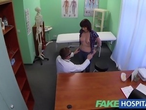 FakeHospital Doctor solves patients depression through oral sex and fucking...