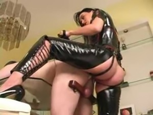 Mistress Megan Strap On Action