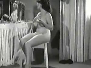 Vintage Lady's Strip 2.