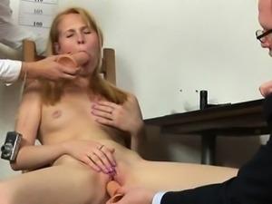 Double dildo test for a secretary