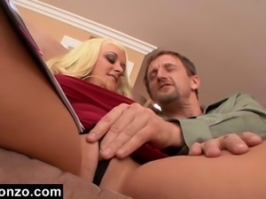 Slutty Secretary Fucks Her Boss