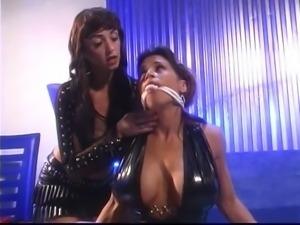 Kinky busty girls playing hard