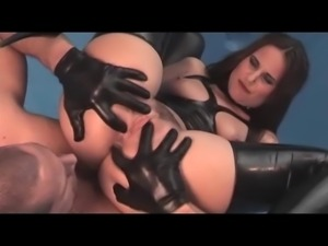 Kinky ladies, leather & hard cocks #6