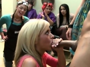 Amateur bride to be facialized at blowjob party