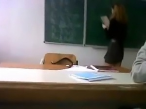 male students upskirt their hot female teacher