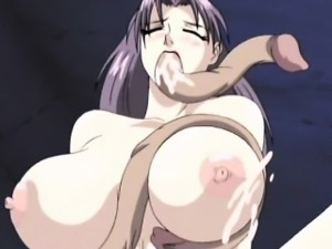 Big titted hentai girl gets fucked