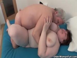 BBW grandma still enjoys grandpa's tiny dick free