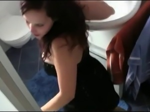 Hard Anal Sex In Bathroom with Facial Finale