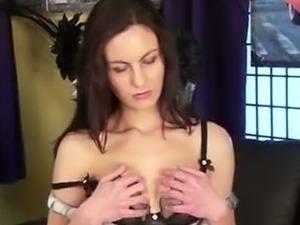 Stunning MILF Michelle Khan fingering her cunt