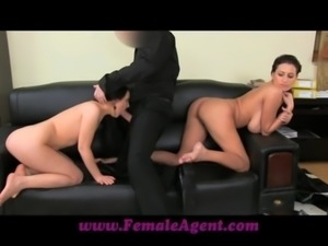 FemaleAgent Shy girl loves anal creampies free