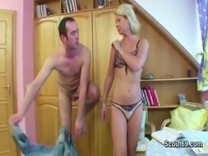 Mom get fucked by german friend of her son when husband away free