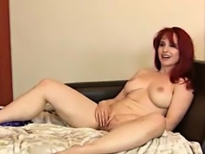 Redheaded Housewife Andrea Rosu - mature-fucks.com