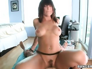 Lily Paige fucking like a first rate whore in hardcore sex action with horny guy