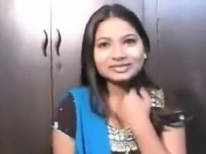 Busty Indian Teen Girl Pleasing A Cock