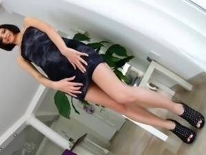 Lina Arian takes on two guys and massive creampies