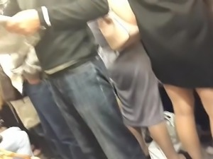 touch ass in the subway 16