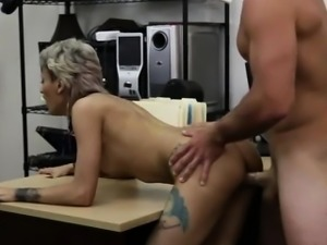Babe gets fucked in front of her BF