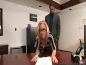 very hot secretary fucks boss free