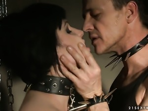 Hot blooded minx and hot man are two sex addicts that make each other happy...