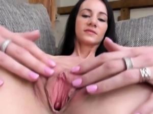 Gyno gaping of beautiful czech woman