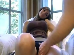 Horny pov girlfriend gets eaten out
