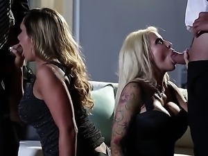 Destiny Dixon and Helly Mae Hellfire are a blonde and a brunette that are...