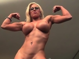 Blonde Muscle Barbie Big Tits Nice Pussy