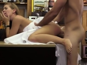 Hot amateur bride gets her pussy fucked by Shawn