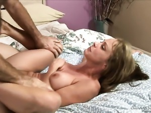 Asian Shayla Laveaux and her horny bang buddy James Deen enjoy sex too much...