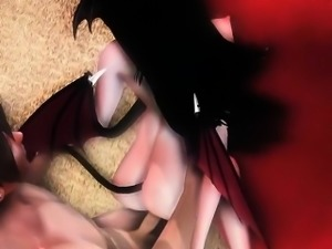 The Night Of Ecstasy With Succubus - Crazy 3D anime xxx