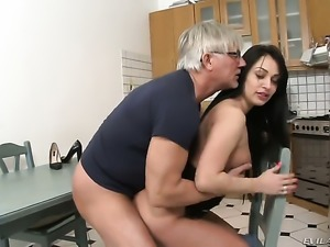 Rosalina Love gets her booty stretched by Christoph Clarks stiff rod