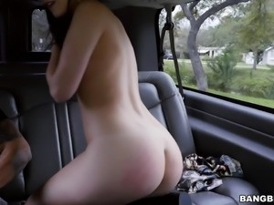 luscious kacey gets naked for driver