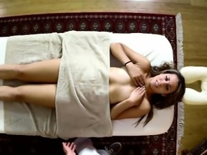 Poor babes fucked hard in special masseur