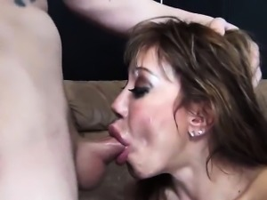 Giving blowjobs is something Ava Devine is always in the...