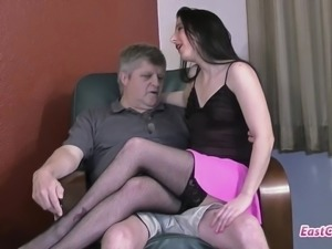 Gianna Love - gets creampied by not her uncle Matt