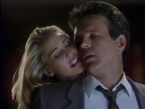 Kathleen Kinmont in erotic film The Corporate Ladder