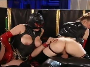 Group Fucking In Latex